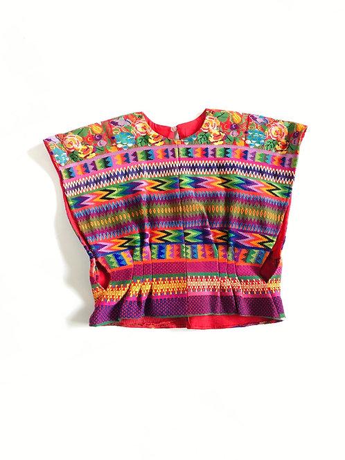 Aztec Print Crop Top