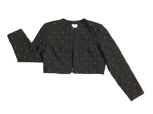 Liz Claiborne Pearl Crop Jacket