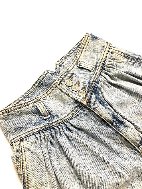 High Waist Jordache Denim Short XXS