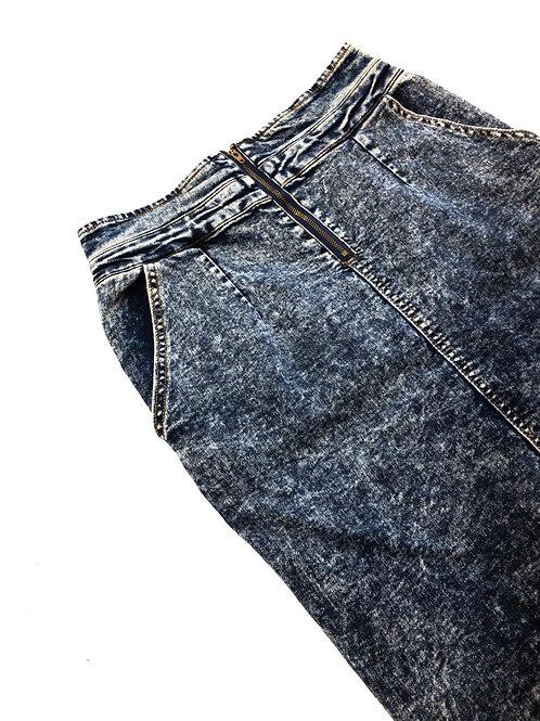 Denim Stretch Skirt