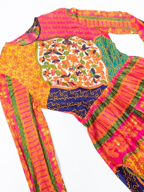 VTG Groovy Maxi Dress