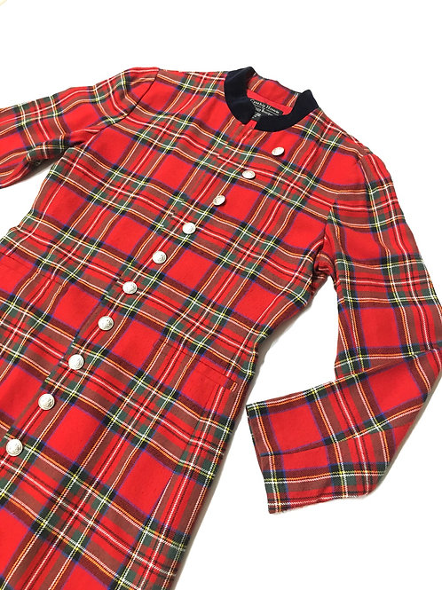 Tartan Full Length Jacket