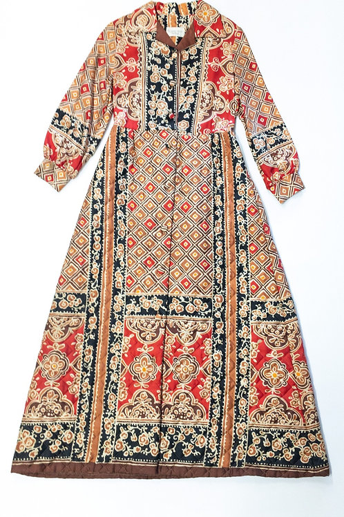 Full Length Quilted Dress