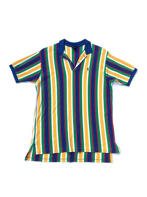 Stripe Polo Shirt 90s