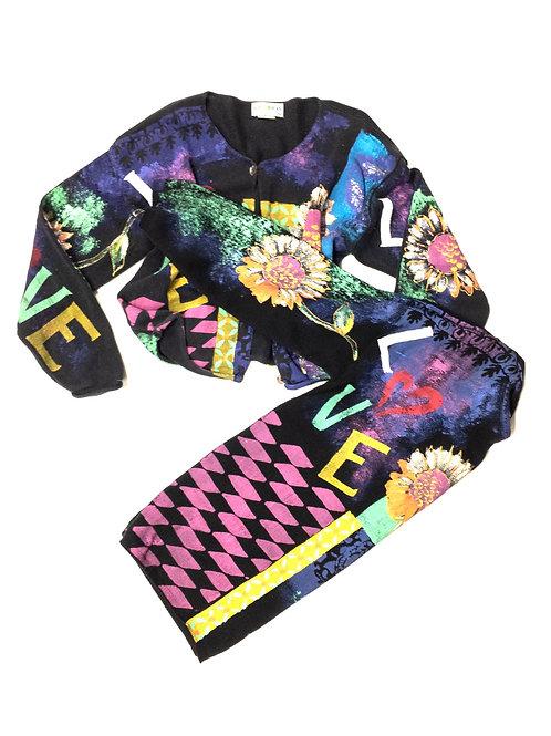 Matching Sweater/Jacket Set -2 piece-