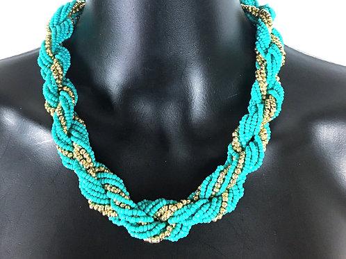 Beaded Twist Necklace