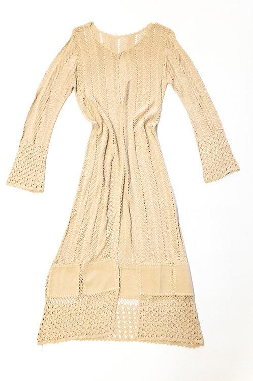 Crochet Duster Dress