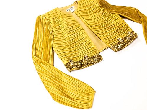 Gold Sequin Beaded Bolero