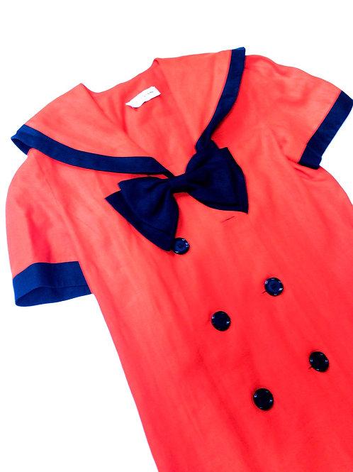 Big Bow Sailor Dress