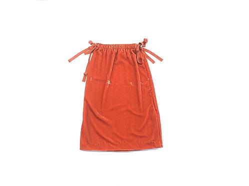 H&M Velour Bow Skirt