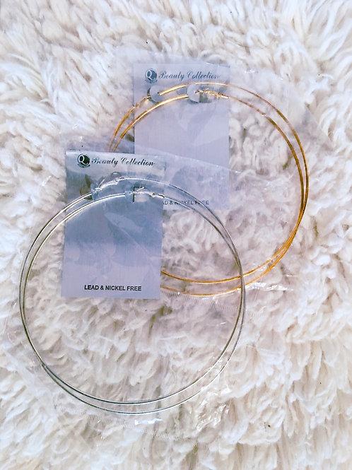 Extra Large Hoop Earrings