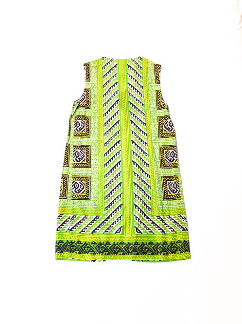 Groovy Green Shift Dress