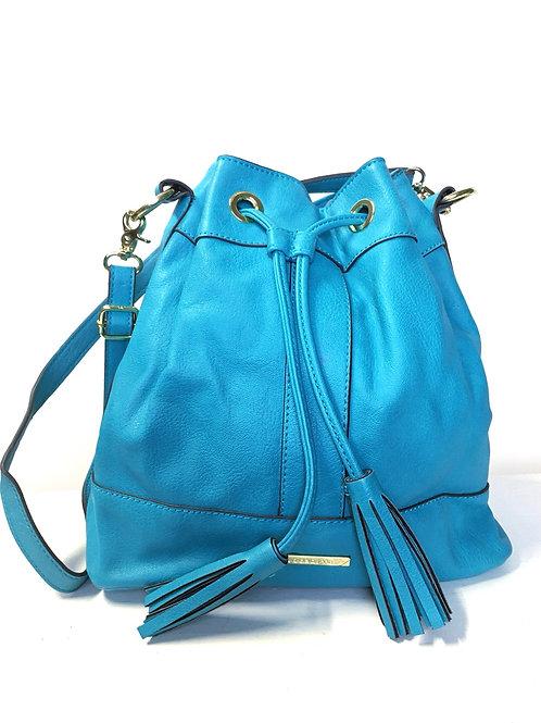Liz Claiborne Turquoise Bucket Bag