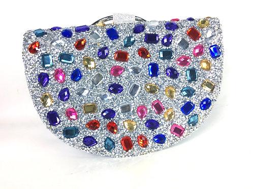 Glitter Jewel Evening Bag