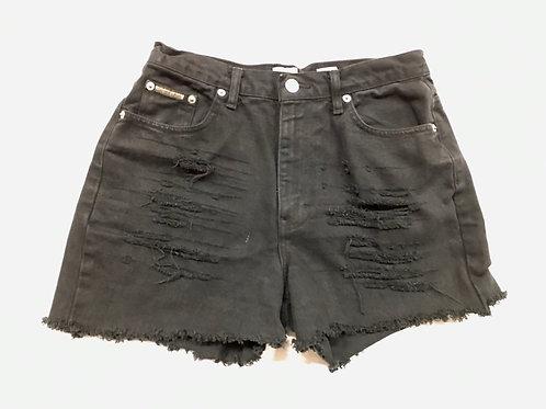 Distressed Denim Short