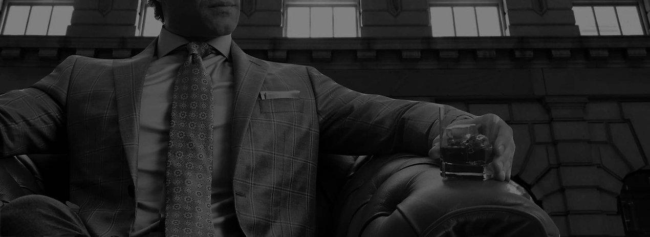 Man in suit San Francisco Custom Suit