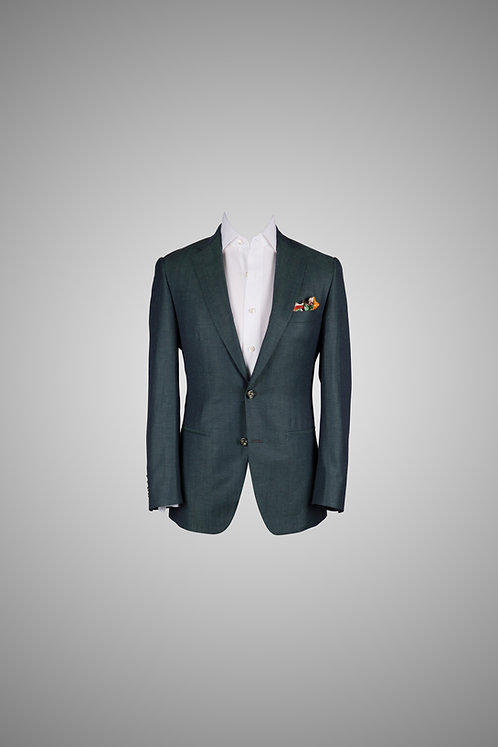 Lush Forest Green Casual Suit