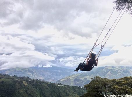 戶外極限運動的天堂 Baños