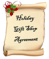 2018 Holiday Gift Shop Agreement
