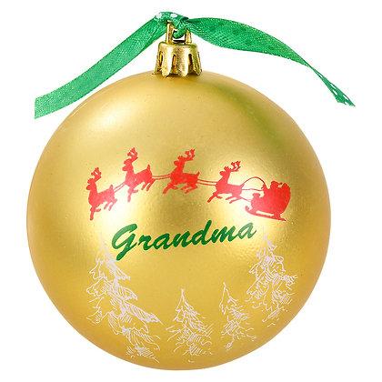 Grandma  Ornament