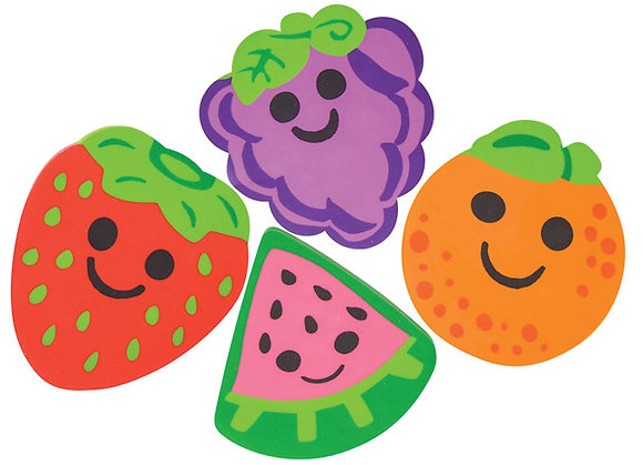 Fruit Erasers