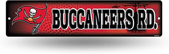 BUCCS STREET SIGN