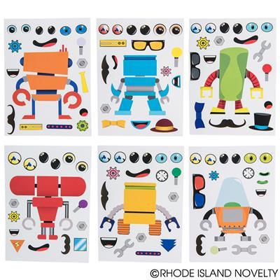 MAKE A ROBOT STICKERS