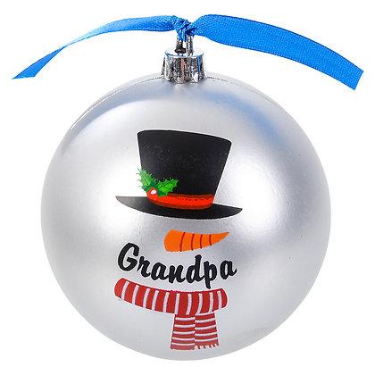 Grandpa Ornament