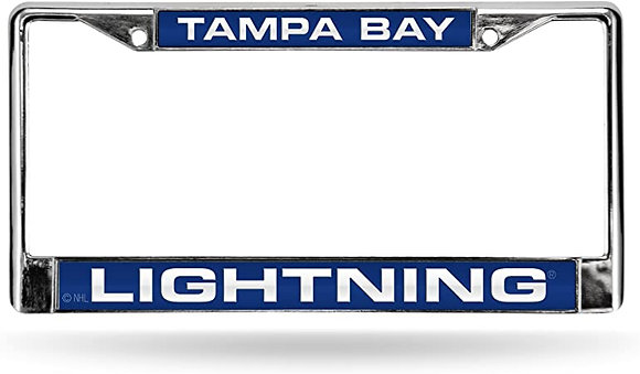 LIGHTNING LICENSE PLATE FRAME