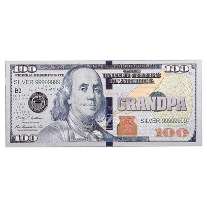 GRANDPA SILVER $100 MAGNET