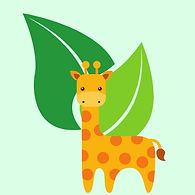 Leaves and Giraffe.jpg