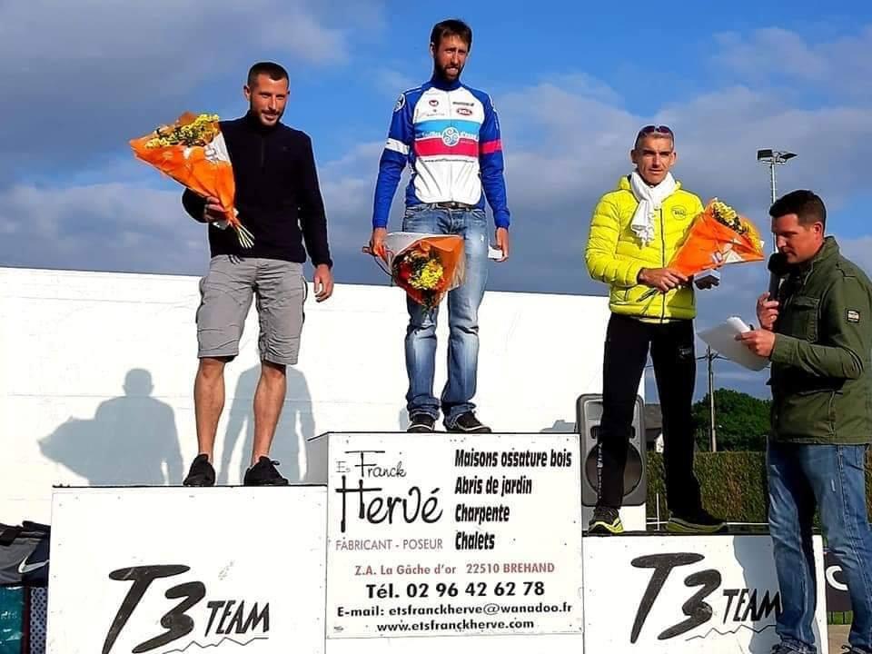 Guillaume Le Foch vainqueur du trail de