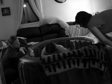 Doula & Midwife teamwork