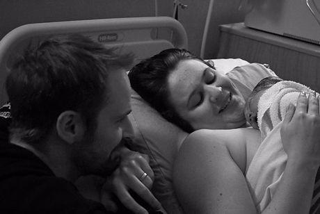 Hypnobabies birth of Ivy Barrett