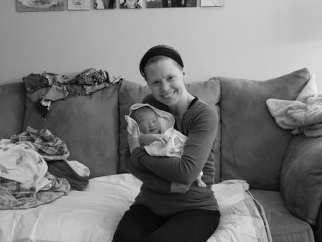 Proud doula & beautiful baby