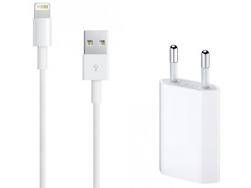 Kombi-Angebot: iPhone Ladekabel 2m und Poweradapter (Original)
