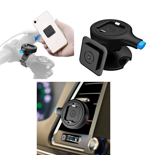 Kombi-Angebot: 3 Universal-Handyhalterungen (Bike, Multifunktional, Auto)