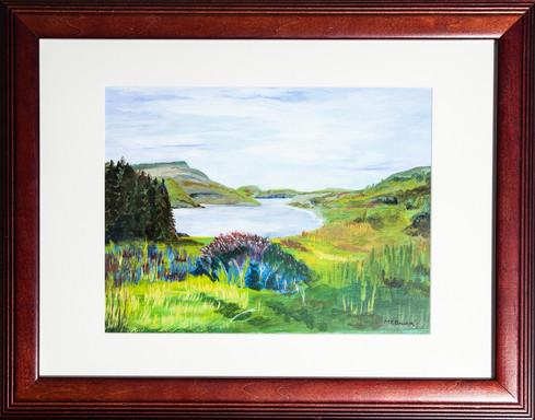 """Margaret Bauer """"A Scottish Loch"""" IMG_712"""