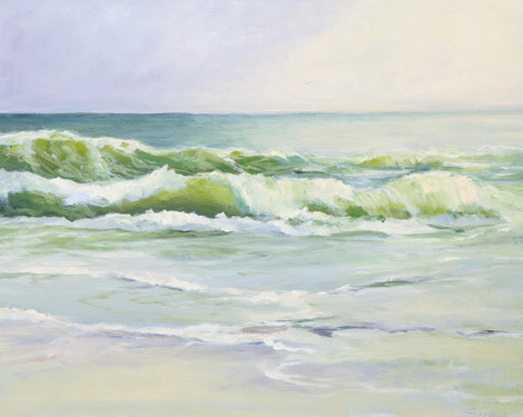"Karen Schaw ""Ocean Morning"""