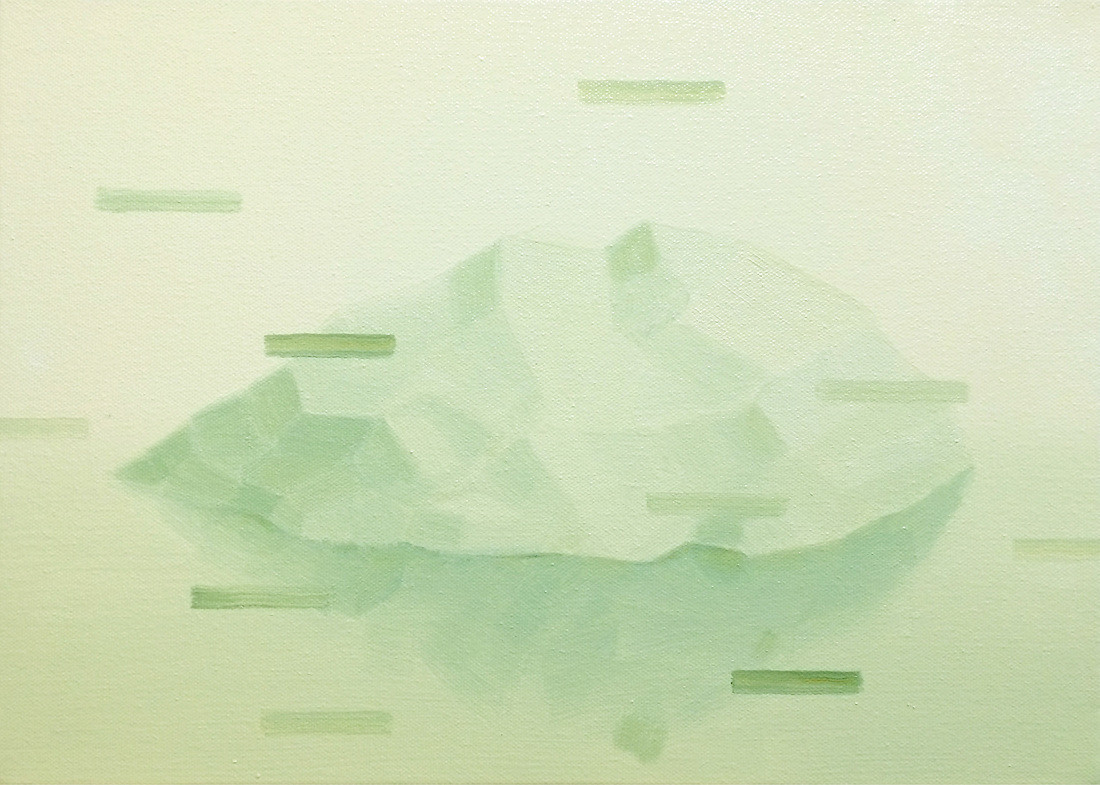 Resource 2, 2015, oil on canvas, 26 x 36 cm  • Private collection