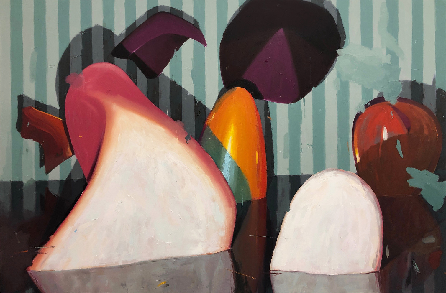 Blind Faith, 2019, oil on canvas 120 x 180 cm   • Private collection