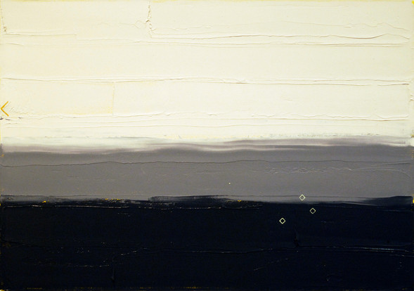 Small Study #3, 2013, oil and acrylic on canvas 25 x 36 cm  • Available