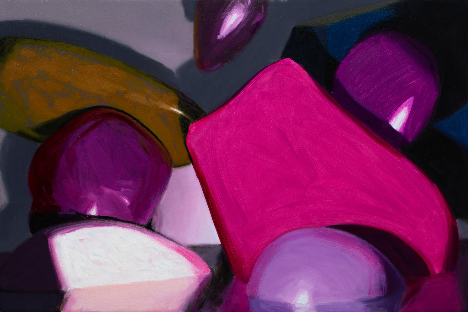Bonafide Artifice, 2020, oil on canvas 60 x 90cm  • Available