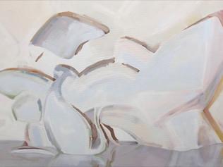 Illumine, 2018, oil on canvas 50 x 76 cm  • Available