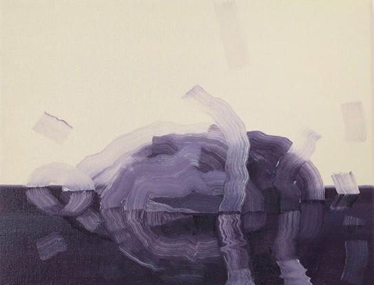 Resurrect, 2015, oil on canvas 23 x 30cm   • Private collection