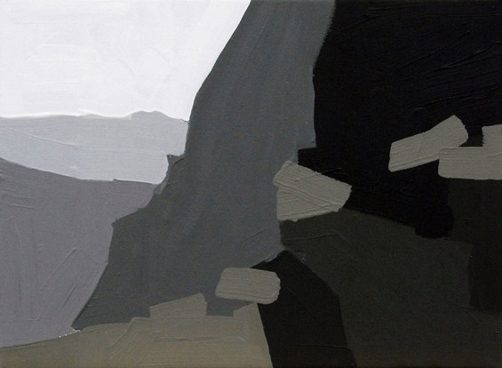 Untitled (Test), 2013, acrylic on canvas 20 x 30 cm  • Private collection