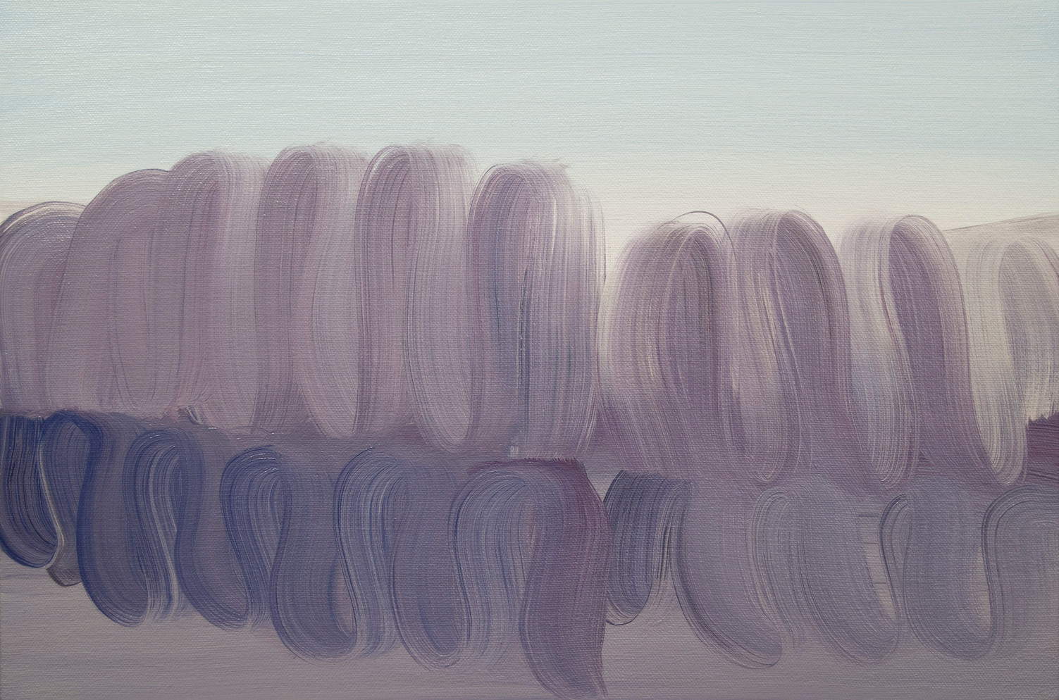Mimic, 2015, oil on canvas 30 x 45 cm  • Available