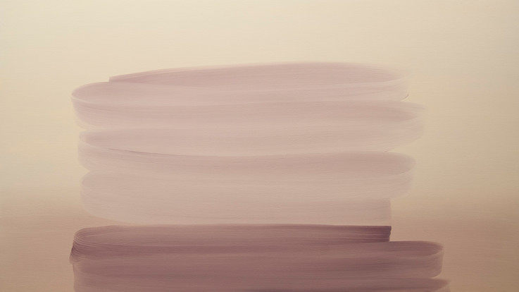 Simulus 4, 2015, oil on board 56 x 100 cm   • Available