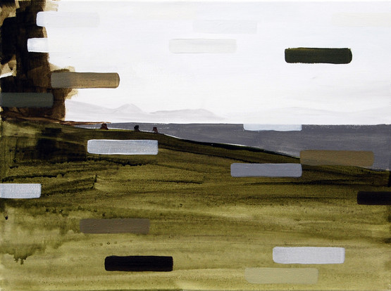 Kill Process, 2013, oil and acrylic on canvas 23 x 30 cm  • Available