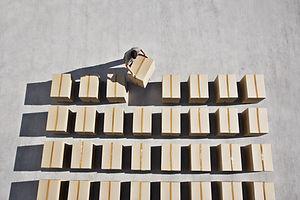 La entrega de las cajas
